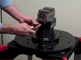New workholding system that dramatically reduces costly set up times on 3+2 multi-axis and 5-axis machines