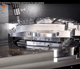 Autodesk PowerMill and Hurco machines partnering for aerospace