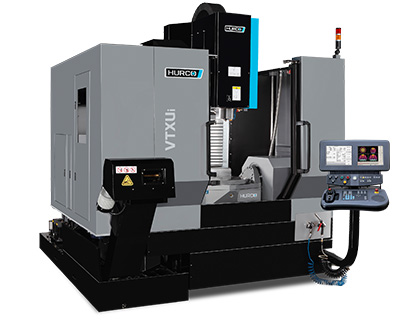 5-Axis CNC Machine Hurco Traveling Column