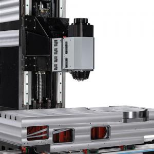 5-Axis swivel Head with Roptary CNC Machine