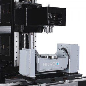 5-Axis Trunnion Table CNC Machine