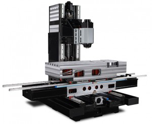 5-axis Swivel Head with Rotary Table CNC Machine Frame