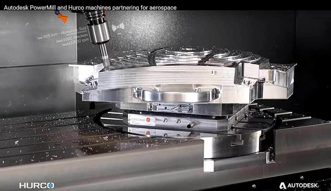 5-Axis CNC Aerospace Hurco VMX42SRTi